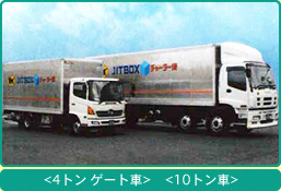 一般貸切 - 貨物輸送|貨物の輸送・物流の事ならヤマトボックスチャーター